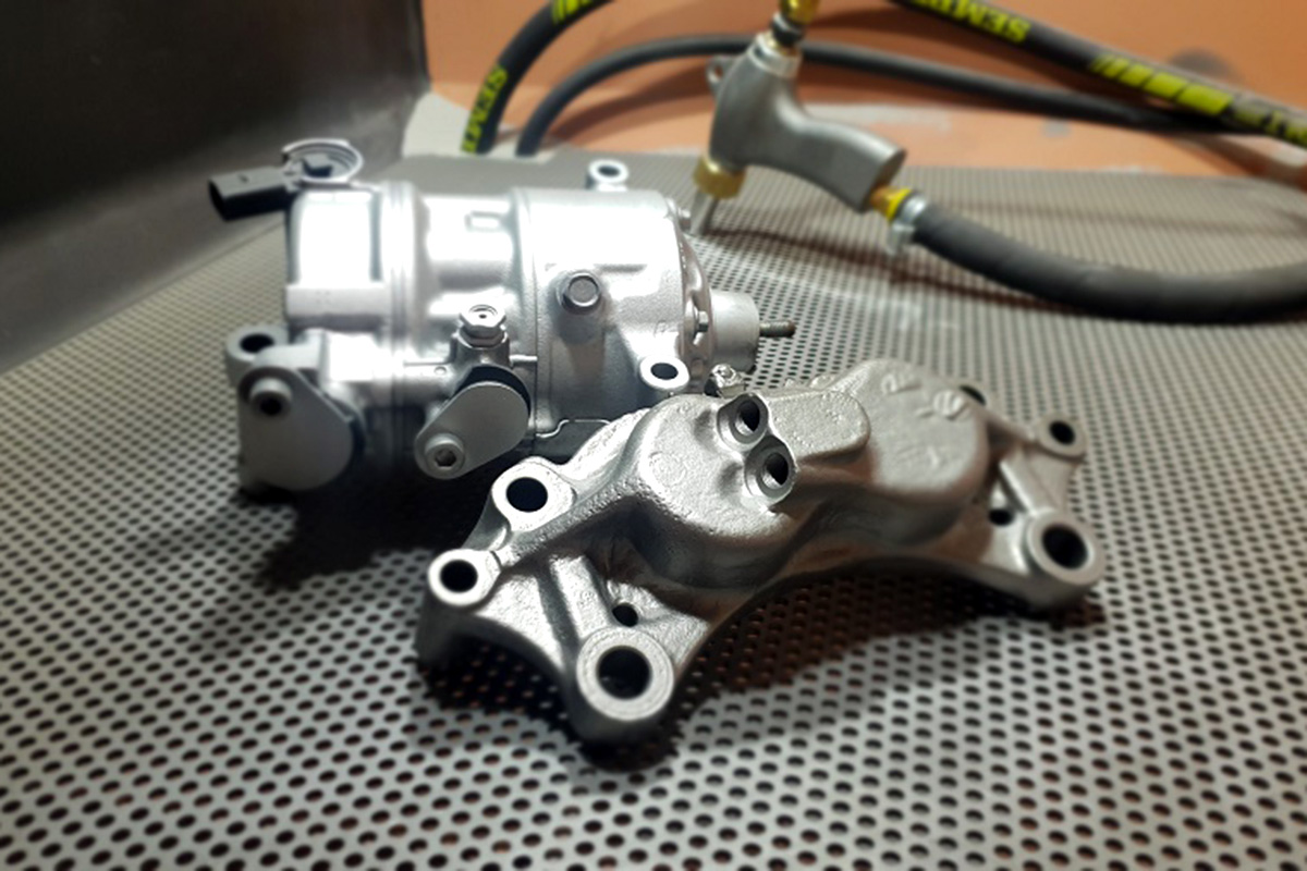 Zregenerowane części samochodowe