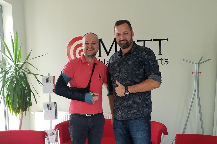 Adam Klimek w firmie Matt